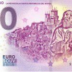 San Marino 2019-2 0 euro souvenir zero euro banknote