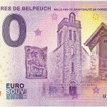 Sanctuaires de Belpeuch 2018-4 chemin de saint jacques 0 euro schein souvenir