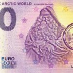 Santapark Arctic World 2019-1 0 euro souvenir banknote