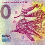 Saurier – Giganten der Meere 2020-1 zero euro banknotes germany