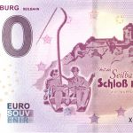 Schloss Burg 2018-9 seilbahn zero euro banknotes 0 euro souvenir schein
