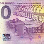 Schloss Oberhausen 2018-2 zero euro 0€ souvenir banknote