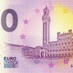 Siena 2019-1 0 euro souvenir schein billet touristique banknotes
