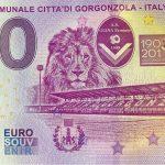 Stadio Comunale Citta´di Gorgonzola 2019-1 0 euro souvenir italy