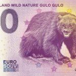 Suomi-Finland Wild Nature Gulo Gulo 2019-3 0 euro souvenir slovensko