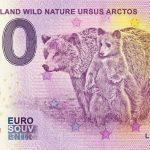 Suomi-Finland Wild Nature Ursus Arctos 2018-1 0 euro souvenir banknotes