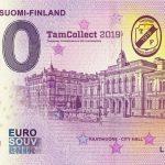 Tampere Suomi – Finland 2019-1 0 euro souvenir zero euro banknote
