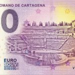 Teatro Romano de Cartagena 2019-1 zero euro souvenir banknote 0€ bankovka