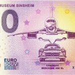 Technik museum Sinsheim 2019-4 0 euro souvenir bankovka