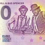Terence Hill & Bud Spencer 2020-1 0 euro souvenir banknote germany