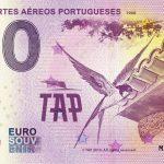 Transportes Aéreos Portugueses 2019-1 0 euro souvenir slovensko
