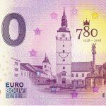 Trnava 2018-1 0 euro souvenir slovakia zero schein billet 780 jahre