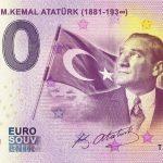 Turkiye - M. Kemal Ataturk 2019-1 0 euro