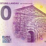 Vaubanfestung Landau 2018-1 nec pluribus impar zero euro 0 souvenir