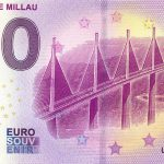 Viaduc de Millau 2019-2 0 euro souvenir bankovka