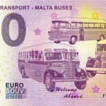 Vintage Transport – Malta Buses 2019-1 0 euro souvenir schein zeroeuro banknote