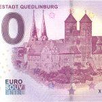 Welterbestadt Quedlinburg 2019-1 0 euro souvenir schein
