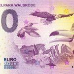 Weltvogelpark Walsrode 2019-1 0 euro souvenir bankovka