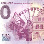 Werne an der Lippe 2019-1 0 euro souvenir germany