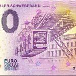 Wuppertaler Schwebebahn 2018-3 modell g15 zero euro banknotes 0 euro souvenir bankovka