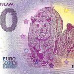 ZOO Bratislava 2019-2 0 euro souvenir bankovka slovensko zero euro slovakia