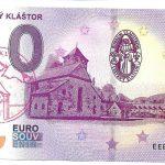 cerveny klastor 2019-1 0 euro souvenir peciatka