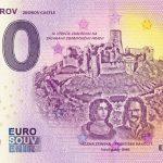 hrad zborov 2019-1 castle 0 euro souvenir bankovka