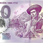 juraj janosik 1688-1713 2018-1 terchova peciatka o euro souvenir slovensko bankovka zero 0 € schein banknote