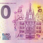 kosice dom svatej alzbety 2019-2 0 euro souvenir slovensko bankovka slovakia banknote