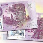 milan rastislav stefanik 2019-1 2019-2 0 euro souvenir banknote slovakia bankovka slovensko peciatka znamka