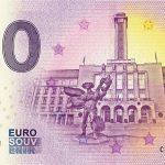 ostrava 2019-1 0 euro souvenir ceska republika bankovka