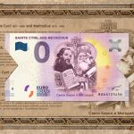 saints-cyril-and-methodius-2019-1-0-euro-souvenir-banknote-bulgaria-BGAA-folder-chybotlac