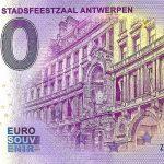 shopping stadsfeestzaal antwerpen 2021-1 0 euro souvenir banknotes belgium