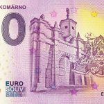 slovenska 0 euro bankovka pevnost komarno 2020-1 zero euro souvenir banknote slovakia
