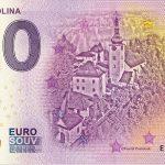 spania dolina 2019-1 0 euro souvenir slovensko slovakia banknote