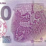 spania dolina 2019-1 0 euro souvenir slovensko slovakia banknote peciatka
