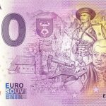 terchová 2021-1 0 euro souvenir bankovka slovenska