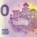 trencin 2019-1 0 euro souvenir bankovka slovensko banknote slovakia trenciansky castle