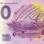 utah-beach musee du debarquement 2017-1 0 euro souvenir bankovka zero o € schein banknote