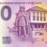 vychodoslovenske muzeum v kosiciach 2019-1 0 euro souvenir slovakia