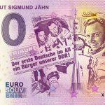 zero euro Kosmonaut Sigmund Jahn 2020-9 0 euro banknote germany