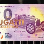 zero euro Museu do Caramulo 2018-1 The Bugatti Collection LE folder portugal banknote