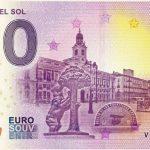 zero euro Puerta del Sol 2020-1 0 euro souvenir banknote