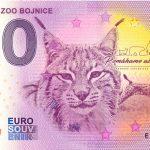 zero euro slovensko Národná ZOO Bojnice 2020-3 0 euro banknotes novy dizajn