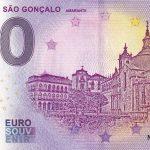 zero euro souvenir Largo de Sao Goncalo 2020-1 0 euro banknote