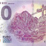 zero euro souvenir lomnicky stit 2018-1 high tatras peciatka billet schein banknotes