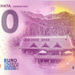 zero euro souvenir ziarska chata 2020-1 zapadne tatry 0 euro bankovka slovensko