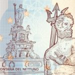 zerosouvenir bologna fontana del nettuno V018 2021-02 0 souvenir banknote italy