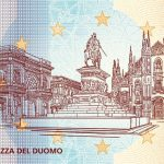 zerosouvenir milano piazza del duomo V009 2020-11 0 souvenir banknotes italy