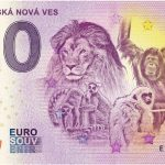 zoo spisska nova ves 2018-1 0 zero euro souvenir schein billet